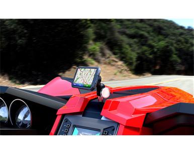 Polaris Slingshot Smartphone + GPS Dashboard Mount