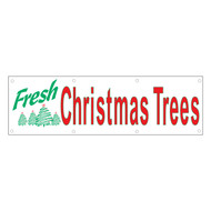 Fresh Christmas Trees Banner (BA-831)