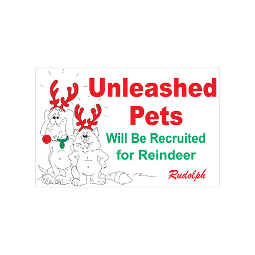 Unleashed Pets Sign (JB-116)