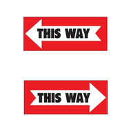 Two-sided This Way Sign (JB-ARROW)