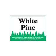 Species Sign - White Pine (JB-SP-6)