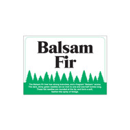 Species Sign - Balsam Fir (JB-SP-7)