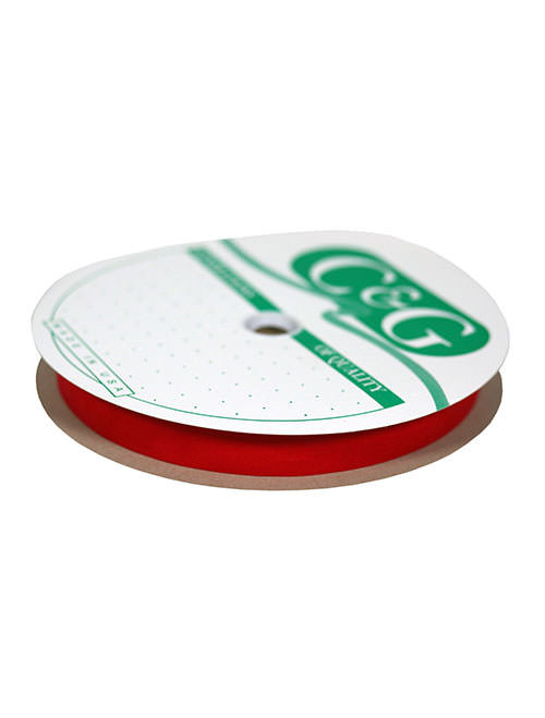"2-5/8"" #40 Red Velvet Weatherproof Ribbon (R-40R)"
