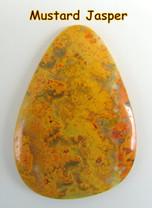 Mustard Jasper(Indonesia) 53x47 mm 74 cts MJ3