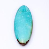 Baviacora Mine (Sonora,Mexico) Turquoise Cabochon