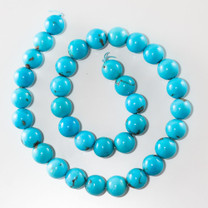 Sleeping Beauty Turquoise- 12mm Rounds