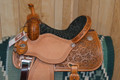 New Martin Saddlery Crown C Barrel Saddle 14.5 inch 7 gullet
