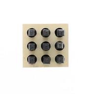"Steel Stencil Sets - HD-Figure Set (0–9) 1/8"""