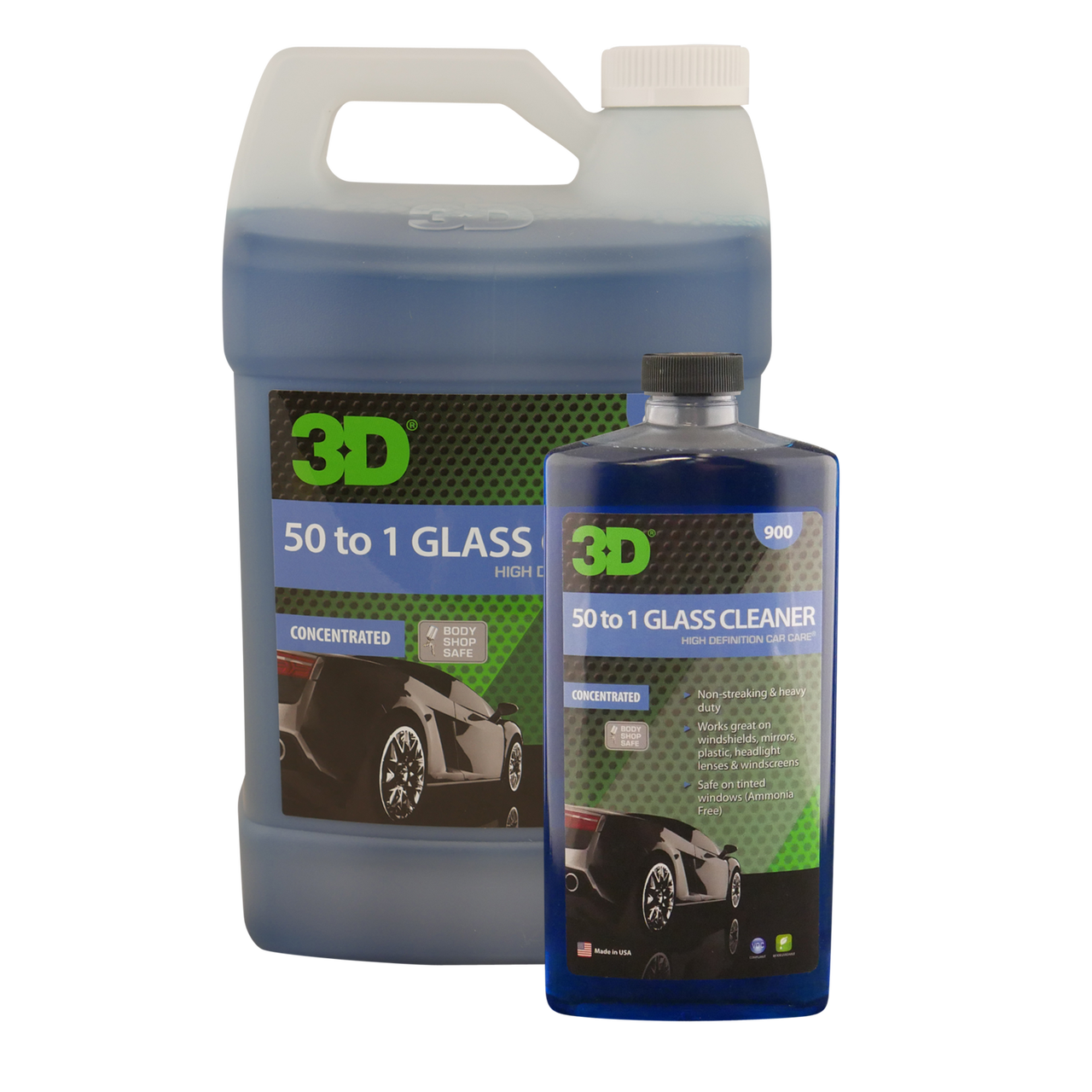 3d 50 To 1 Glass Cleaner