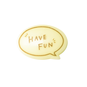 對話框朱古力牌(Have Fun)