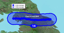 Garmin GB Discoverer-Coast to Coast Walk