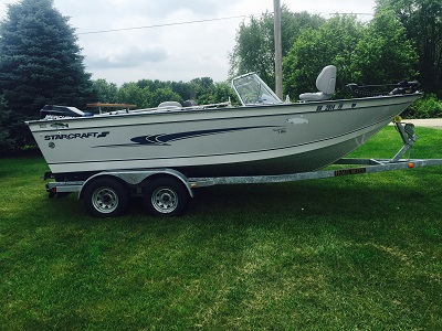 2000 19 Starcraft Fishmaster 196 For Sale Walleye