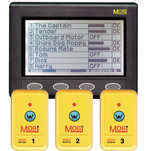 Clipper MOBi Man Overboard Indicator w\/3 Fobs