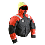 First Watch AB-1100 Flotation Bomber Jacket - Red\/Black - Small