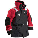 First Watch AC-1100 Flotation Coat - Red\/Black - Large