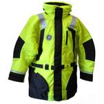 First Watch Hi-Vis Flotation Coat - Hi-Vis Yellow\/Black - Small