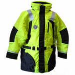 First Watch Hi-Vis Flotation Coat - Hi-Vis Yellow\/Black - Large