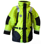 First Watch Hi-Vis Flotation Coat - Hi-Vis Yellow\/Black - X-Large