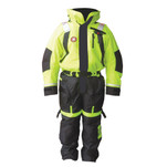 First Watch Anti-Exposure Suit - Hi-Vis Yellow\/Black - Small