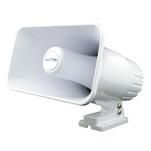 """Speco 4"""" x 6"""" Weatherproof PA Speaker Horn - White"""