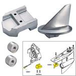 Tecnoseal Anode Kit w\/Hardware - Mercury Alpha 1 Gen 1 - Magnesium