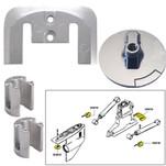 Tecnoseal Anode Kit w\/Hardware - Mercury Bravo 2-3 - Zinc