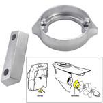 Tecnoseal Anode Kit w\/Hardware - Volvo Duo-Prop 290 - Aluminum