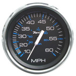 "Faria Chesapeake Black SS 4"" Speedometer - 60MPH (Mechanical)"