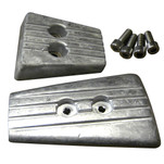 Tecnoseal Anode Kit - Volvo DPSA\/SXA - Aluminum