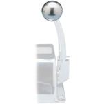 Rupp Control Knob Silver For Morse Controls (3\/8-24 Thread)