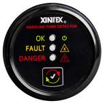 Xintex Gasoline Fume Detector & Alarm w\/Plastic Sensor - Black Bezel Display