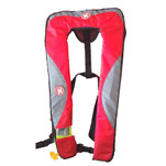 First Watch 24 Gram Inflatable PFD - Manual - Red\/Grey
