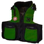First Watch AV-800 Pro 4-Pocket Vest (USCG Type III) - Green\/Black - S\/M