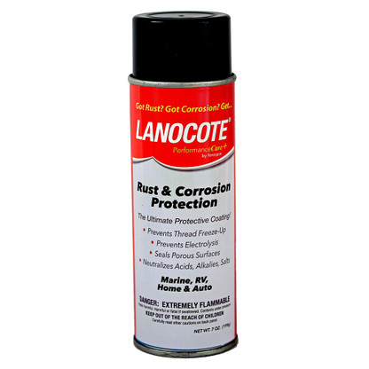 Forespar Lanocote Rust  Corrosion Solution - 7 oz.