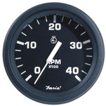 "Faria 4"" HD Tachometer (4000 RPM) Diesel (Mech Takeoff  Var Ratio Alt) - Black"