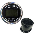 "Faria 2"" Depth Sounder w\/In-Hull Transducer - Black - Stainless Steel Bezel"