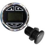 "Faria 2"" Depth Sounder w\/Thru-Hull Transducer - Chesapeake Black - Stainless Steel Bezel"