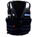 First Watch HBV-100 High Buoyancy Type V Rescue Vest - Medium-X-Large - Black