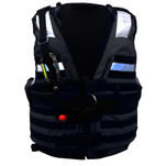 First Watch HBV-100 High Buoyancy Type V Rescue Vest - X-Large-XXX-Large - Black