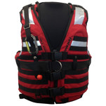First Watch HBV-100 High Buoyancy Type V Rescue Vest - X-Large-XXX-Large - Red