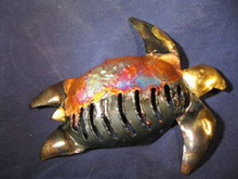 Metalwork Sea Turtle Handmade in Tonala, Jalisco, Mex.