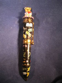 Limoges Box from France of a Pen about Learning
