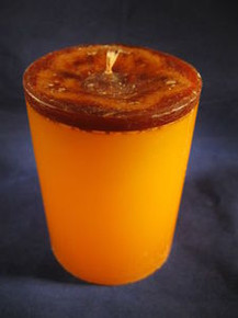 "Handmade Vanilla Scented 3""Dia. By 4""Tall Candle"