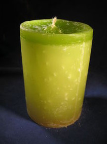 """Handmade Pineapple Scented 3"""" Dia. By 4"""" Tall Candle"""