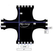 T-Shaped Flex Core Seat Dimensions