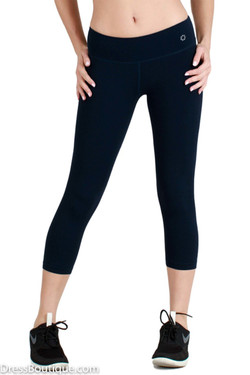 High Waist Black Yoga Capris