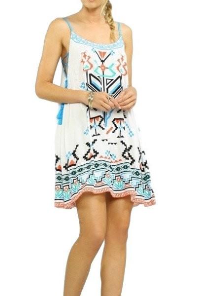Summer Print Slip Dress