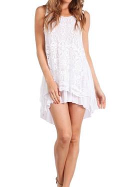 Italian Lace Tunic Dress