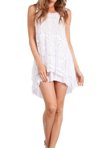 Italian Lace Tunic Dress