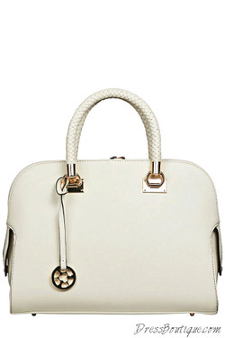 Chic Ivory Tote